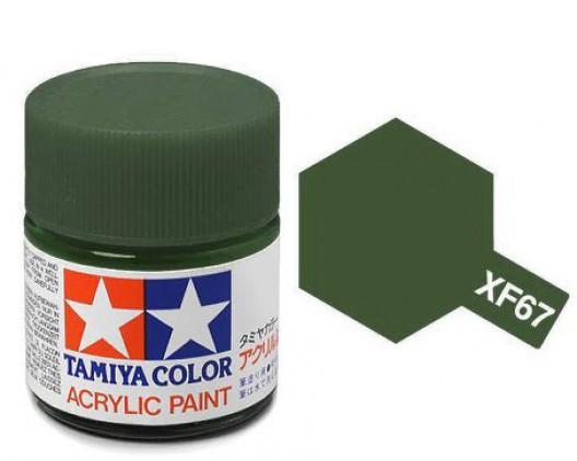 Tamiya Акрил XF-67 Краска Tamiya, Зеленый Натовский Матовый (NATO Green), акрил 10мл import_files_02_02759ce15aac11e4bc9550465d8a474f_95b315645b6211e4b26b002643f9dbb0.jpg