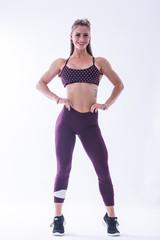 Женские лосины Nebbia Asymmetrical 7/8 leggings 639 Burgundy/vanilla