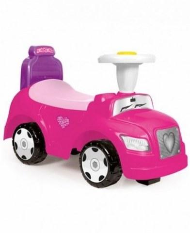 Каталка Dolu 2в1 Сте с рулем розовый DL_8032