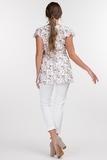 Блузка для беременных 09573 кремовый