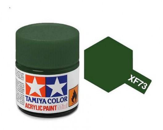 Tamiya Акрил XF-73 Краска Tamiya, Темно-зеленый JGSDF Матовый (Dark Green JGSDF), акрил 10мл import_files_02_02759ce75aac11e4bc9550465d8a474f_95b3156b5b6211e4b26b002643f9dbb0.jpg