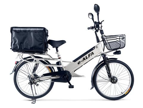 Велогибрид e-ALFA L с термо-боксом