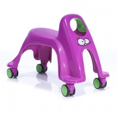Smiley Neon Whirlee Каталка ToyMonster, цвет фиолетовый (RO-SNW-PG)