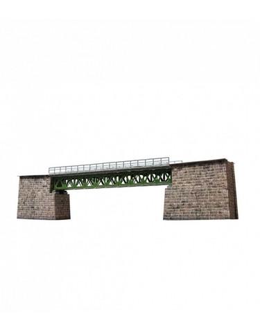 Железнодорожный мост. Сборная модель из картона