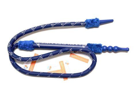 Шланг для кальяна в сборе Amy Deluxe синий