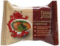 Суп ASIAN FUSION из морепродуктов с креветками [п/п 12г*10*18]