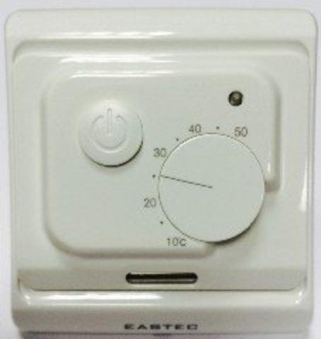Терморегулятор для теплого пола Eastec (ИСТЭК) E 7.36 с двумя датчиками температуры. EASTEC E 7.36