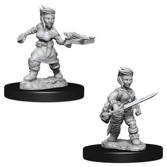 Pathfinder Battles Deep Cuts - Female Halfling Rogue