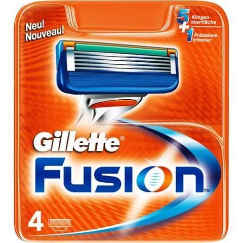 Gillette Fusion cменные кассеты (картриджи) для бритья
