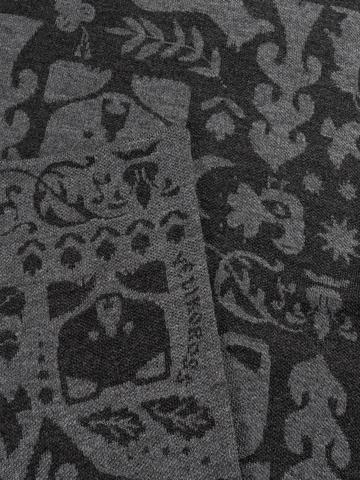 Тёмная Ночь – серые тона № 2.2 (Без бахромы)