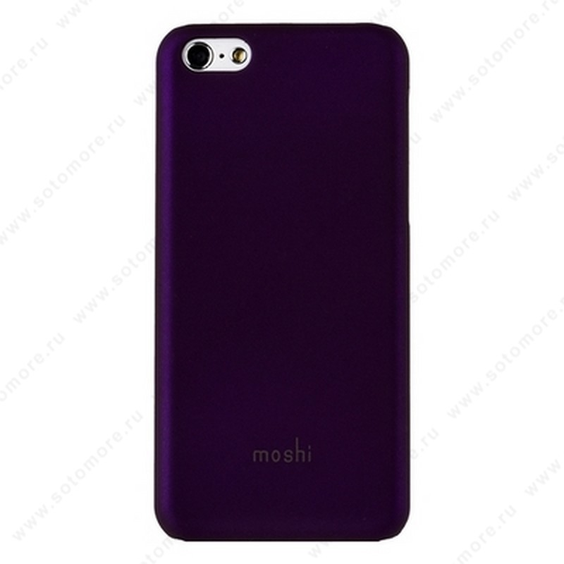 Накладка Moshi пластиковая для iPhone 5C фиолетовая