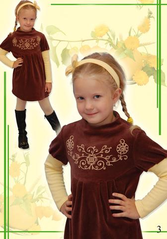 Выкройка платья для девочки
