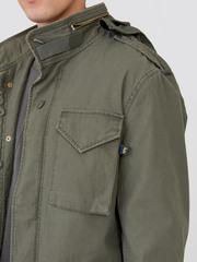 Куртка Alpha Industries M-65 Defender Olive (Зеленая)