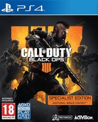 PS4 Call of Duty: Black Ops 4 Specialist Edition (русская версия)