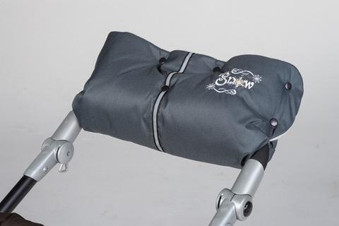 Муфта для рук на коляску меховая