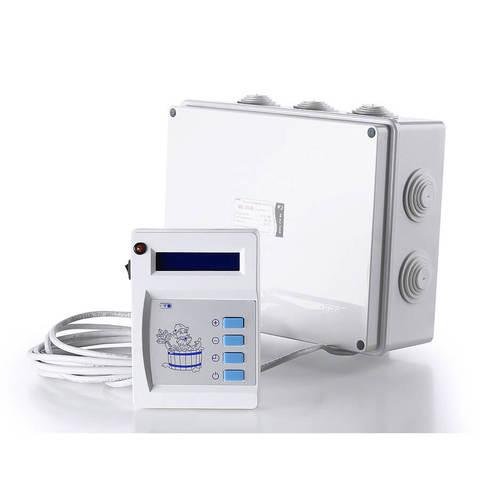 Пульт управления к паротермальным печам для бани и АЭГПП (ПУ - 01 МП  2,25 - 6,25/220)