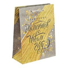 Пакет крафтовый вертикальный «Волшебных моментов», 12 × 15 × 5,5 см, 3468947