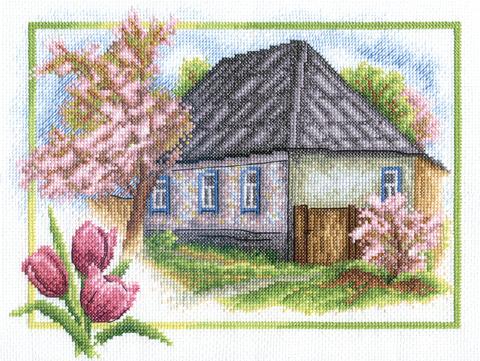 ПС-0332 Весна в деревне