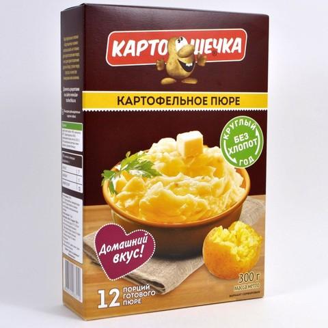 Картофельное пюре (12 порций) Картошечка, 300г