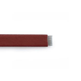 Игла для микроблейдинга 12 плоская
