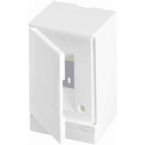 Бокс на стену Basic E 2-модуля непрозрачная дверь. Цвет Белый. (без клемм) 120mm*180mm*102mm IP40. ABB. 1SZR004002A2100