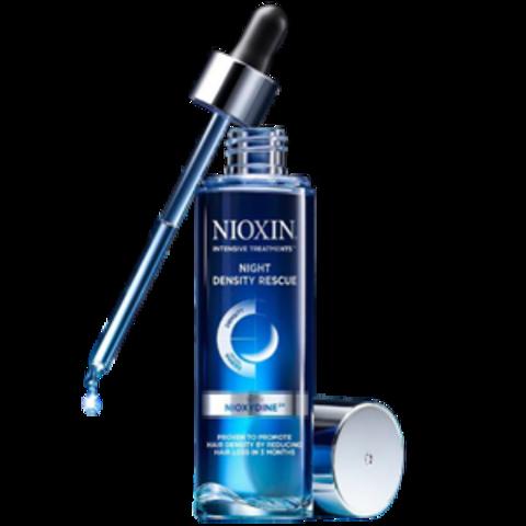 Ночная сыворотка для увеличения густоты волос,NIOXIN Night Density Rescue, 70 мл