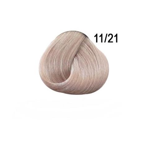 Перманентная крем-краска для волос Ollin 11/21 специальный блондин фиолетово пепельный