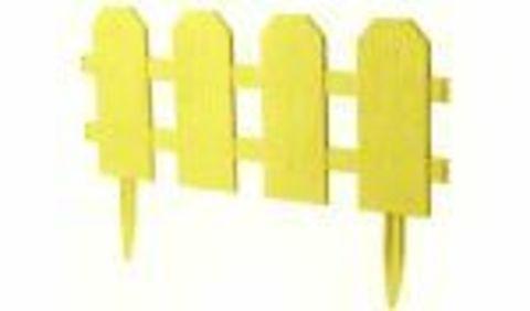 Ограждение декоративное Классика 2,99х0,25м М3160 желтый М-пластика