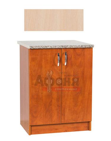 Рабочий стол  80 цвет дуб млечный,стол. ГРАНИТ (ЛДСП)