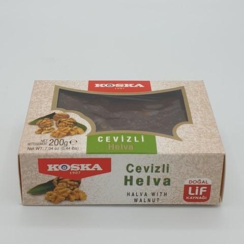 Летняя халва с грецким орехом KOSKA, 200 гр