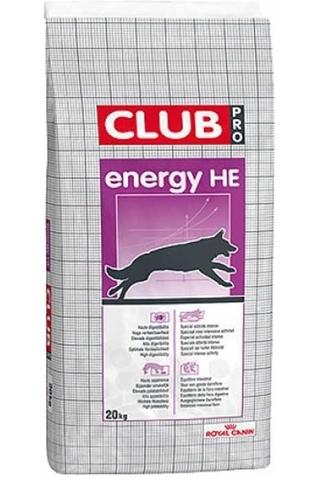 Royal Canin HE Club  высококалорийное питание для взрослых cобак