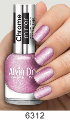 Alvin D`or Лак д/ногтей Chrome mirror тон 6312