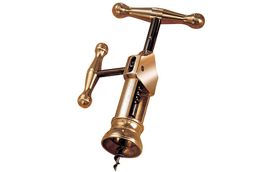 Штопор с воротом Farfalli модель O200.OT King Polished Brass штопор с воротом farfalli модель o210 dg 3 doge