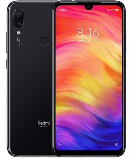 Xiaomi Redmi Note 7 4/64Gb Black (Global Version)