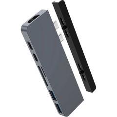 Хаб Hyper HyperDrive DUO 7-in-2 Hub для USB-C MacBook серый