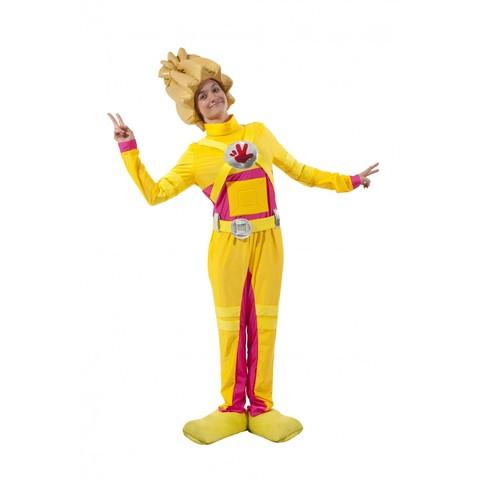 Костюм желтого человечка взрослый