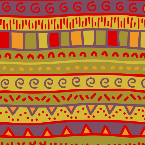 Этнический рисунок
