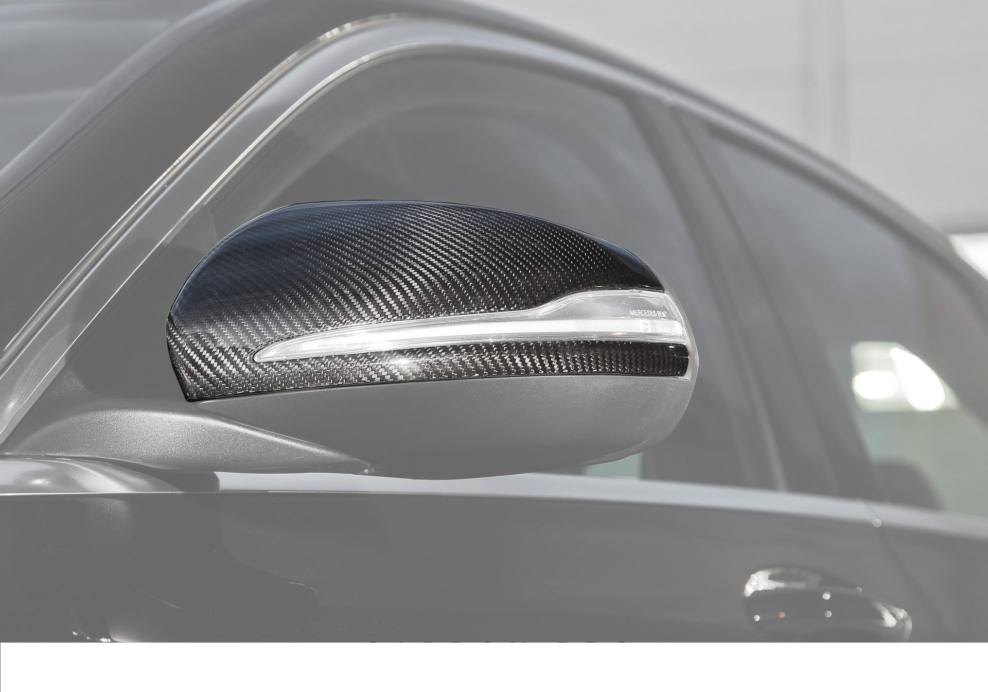 Карбоновые накладки на зеркала Brabus Style для Mercedes С-class W205