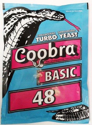 Дрожжи Сoobra Basic Т48 120гр.
