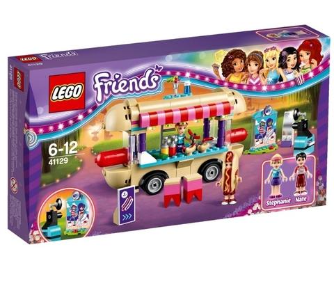 LEGO Friends: Парк развлечений: Фургон с хот-догами 41129 — Amusement Park Hot Dog Van — Лего Френдз Друзья