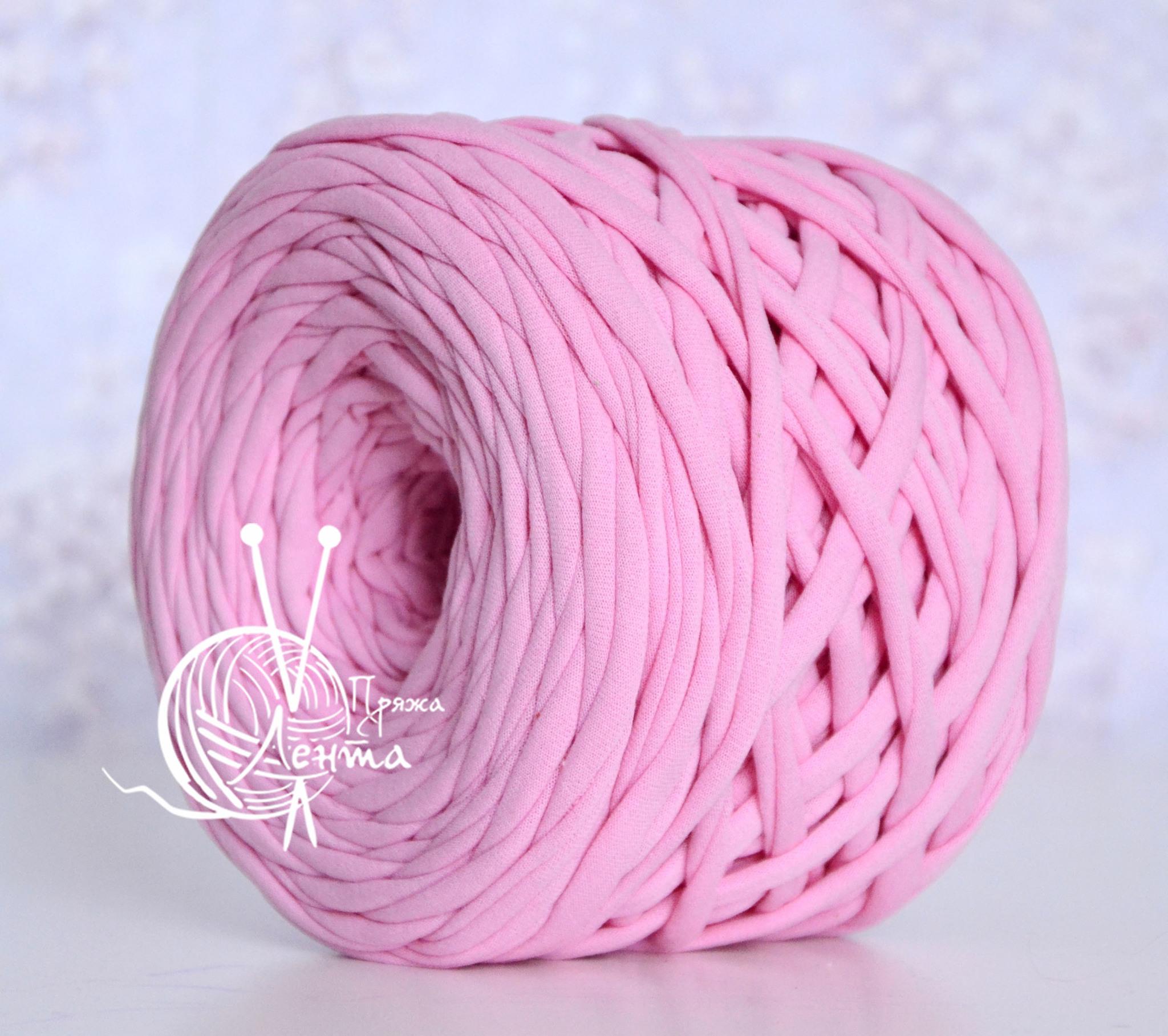 Товары на главной Пряжа Лента Розовый Розовый.jpg
