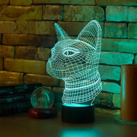 3D ночник Египетская кошка