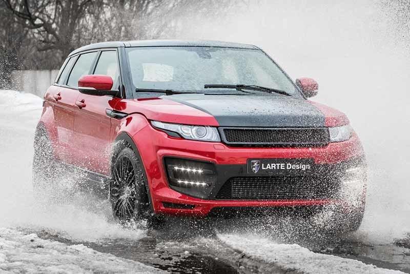 Обвес Larte Design LR-EVQ для Range Rover Evoque