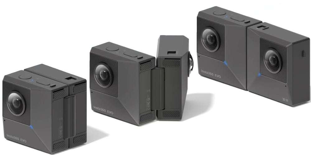 Камера панорамная Insta360 EVO 3D/2D Convertible 360/180° VR Camera все виды