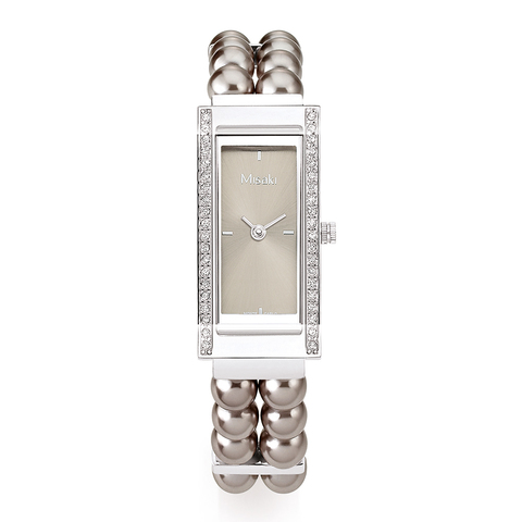 Часы наручные женские Delight Pearl Bronze Misaki коричневый жемчуг