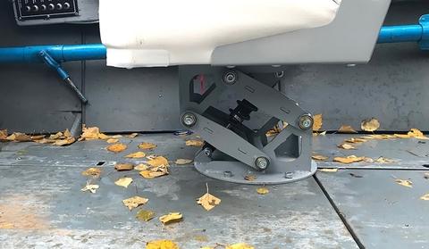 Амортизационная стойка SMART WAVE для лодок, малая