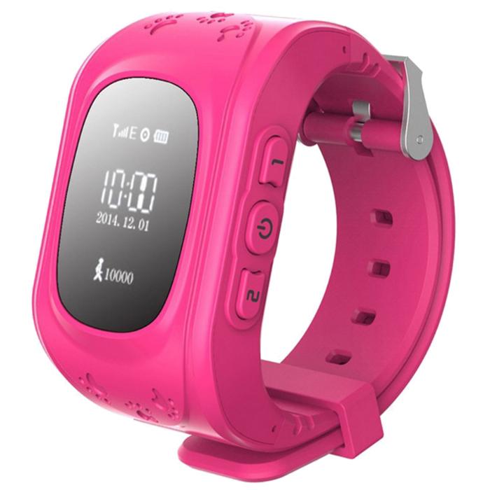 Розовый цветовой вариант Smart Baby Watch q50