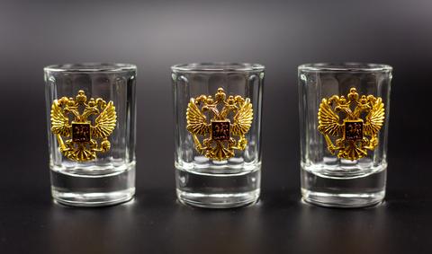 Подарочный набор граненых стопок «Казенный»