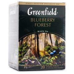 Чай чёрный Greenfield Blueberry Forest 20 пирамидок