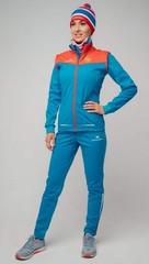 Женский элитный утеплённый лыжный костюм Nordski Pro Rus